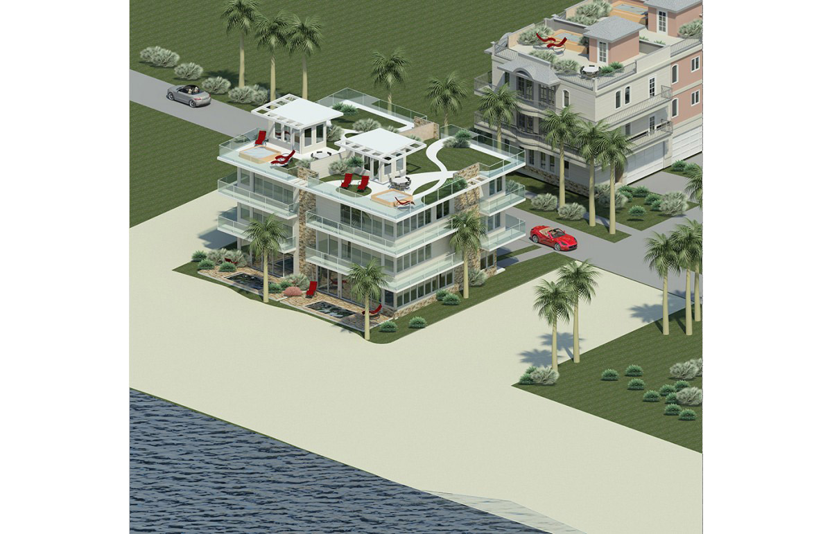 Hollywood Beachfront Townhomes Mfl Development